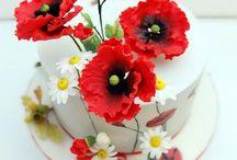 Lucni květy dorty