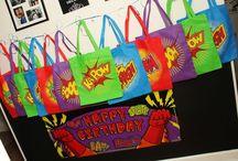 Super Heros Birthday Party Ideas