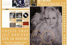 helena50.cz / Helena Vondráčková - mezinárodně nejúspěšnější česká zpěvačka