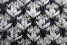 Hand strikke mønster