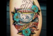 coffee cup tattoo