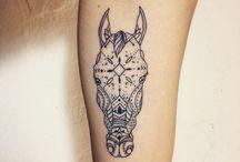 Tatuaże Z Końmi