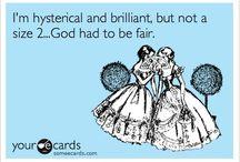 funny funny ha ha / by Cinderella Mckinsey
