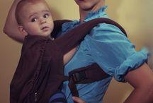Bærebilleder med et twist :-) / Sjove, skæve og finurlige bærebilleder og historier - babywearing with a twist