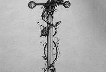 sword tattoo