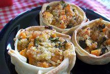 Recetas con Quinoa / Preparaciones saludables y muy exquisitas para veganos y vegetarianos utilizando quinua o quinoa.