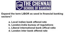 Gk on banking questions / Reasoning questions for you