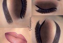 Makeup we love / Makeup that we love here at lukluks #beauty #makup #redlips #howtomakeup