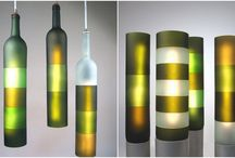 Wine Bottle Art / DIY