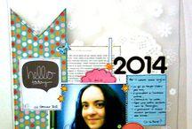 Sfida Layout #4 / http://amichediscrap.blogspot.it/2014/01/sfida-layout-4.html