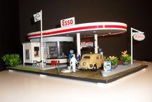 Esso verzamelaar / mijn verzameling van Esso items