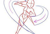 Position dessin