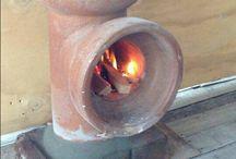 fogão de manilha