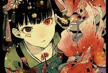 Anime illustration / Enjoy the anime world