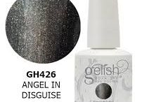 Gelish / These colours are available for your manicures and pedicures