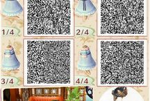 Animal Crossing QR Codes / by Jannessa Newburgh
