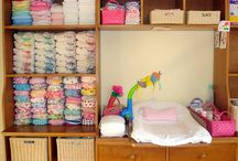 Cloth Diaper Care and Store