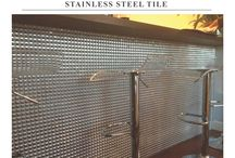 Stainless Steal Tiles / Stainless Steal Tiles by Materials Marketing