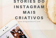 Dicas para o Instagram / Dicas para o Instagram  Stories do Instagram