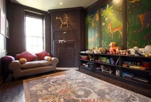 interiors: kid's/children's rooms / by Sally Osborne