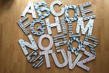 Lettere in Legno / Un'idea decoro perfetta per dare un tocco unico ai tuoi ambienti!