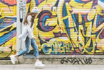 Фотосессия граффити