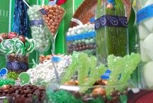 Tennessee Titans Candy Buffet