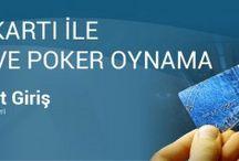 Kredi Kartı İle Poker Oyna