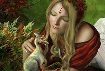 dragons et créatures