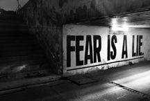 no fear / by Cristina Christensen