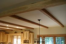 Beams and Posts / Whether structural or decorative beams add a warmth and beauty to your home.  Reclaimed beams and beam wrap bring with them a rich history that will quickly add to your own family story.