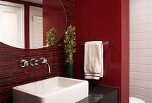 red bathroom solutions