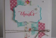 For times you need to say thanks / Homemade thank you card ideas