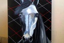 Akryl-ArtRatka / Obraz malowany na płótnie -akyl