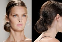 Up Do's / Quick & easy styles to try at home. We love Chignon / by Wonderful Hair Extensions