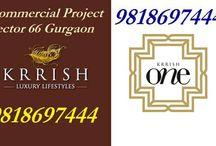 ( 9818697444 ) Krrish Sector 66 / Krrish One Gurgaon / Commercial