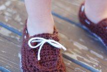 hačkovaná obuv