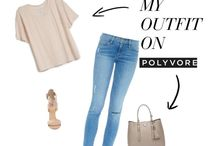 Polyvore - Outfit Ideas & Collages