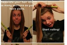 To Style Hair ..