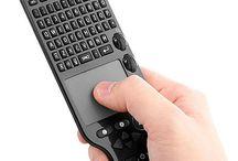 Wireless keyboards for smart TV - Bezdrôtové klávesnice pre smart TV