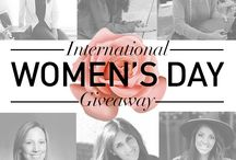International Women's Day Giveaway / We're celebrating fierce female business owners with a fun giveaway. Enter between March 8th (International Women's Day) and March 13th at: https://intwomensday.pgtb.me/HtnpNZ  THE GIVEAWAY HAS ENDED.