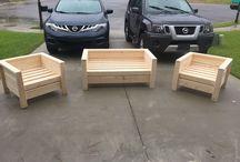 стулья, сидения из дерева
