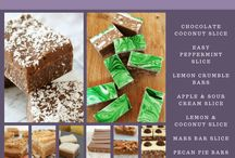 Thermomix desserts/slices