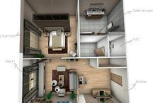 Création Crhome Design - Chambre d'hôtel / Suite d'hôtel 3D