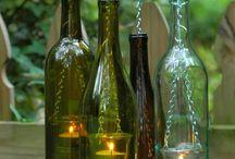 Wine Bottle Recycling Ideas