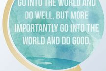 No Good Deed Goes Unrecognized / Anything and everything about doing good.