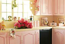 Cocinas rosa