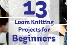loom knitting and patts