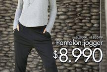 Campaña Jogger pants