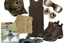 Camo & Country Livin'!  / It's the simple life! I love it! / by Jamie Kelly